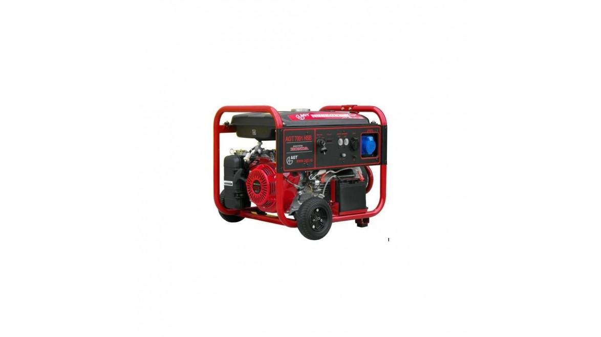Бензиновый генератор AGT 7001 HSB TTL