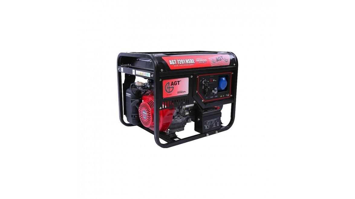 Бензиновый генератор AGT 7201 HSB TTL