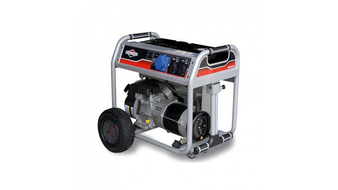 Бензиновый генератор Briggs & Stratton 6250A ELITE