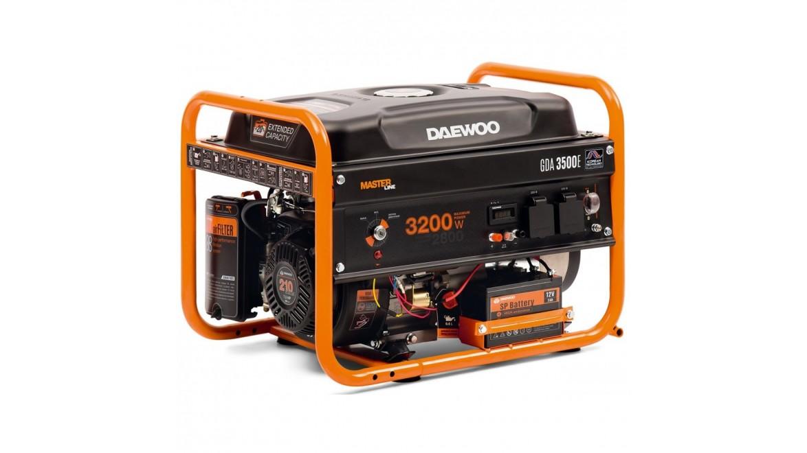 Бензиновый генератор Daewoo GDA 3500 E