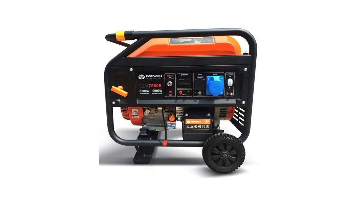 Бензиновый генератор Daewoo GDA 7500 Е