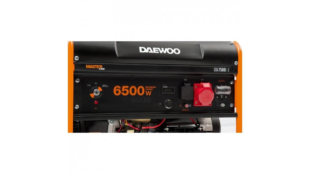 Бензиновый генератор Daewoo GDA 7500 Е-3