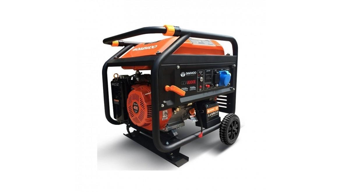 Бензиновый генератор Daewoo GDA 8000 E