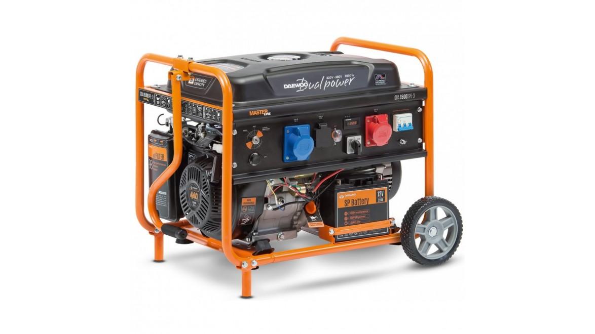 Бензиновый генератор Daewoo GDA 8500 DPE-3