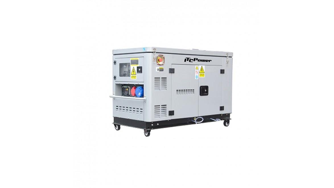 Дизельный генератор Dalgakiran DG12000XSE-T