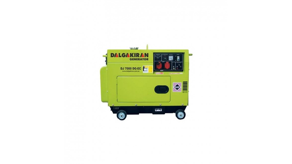 Дизельный генератор Dalgakiran DJ 7000 DG-TECS