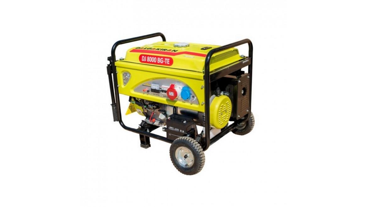 Бензиновый генератор Dalgakiran DJ 8000 BG-TE
