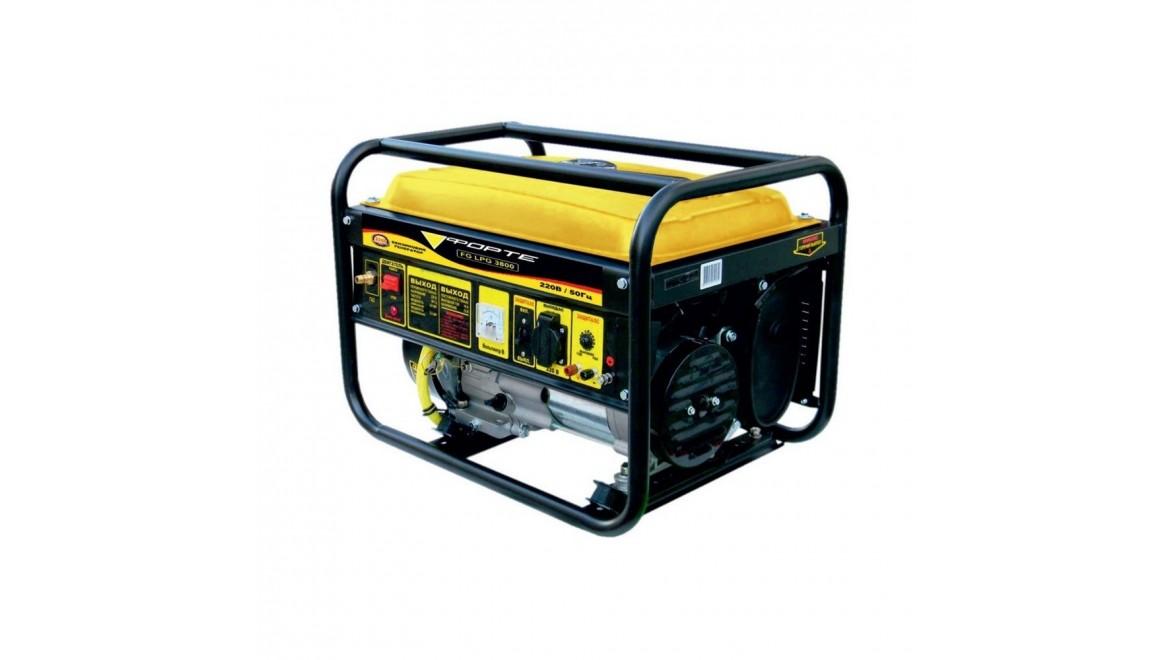 Генератор двухтопливный Forte FG LPG-3800
