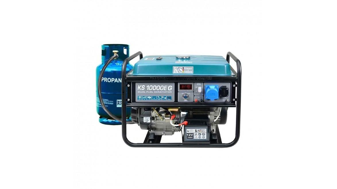 Генератор двухтопливный Konner&Sohnen KS 10000E G