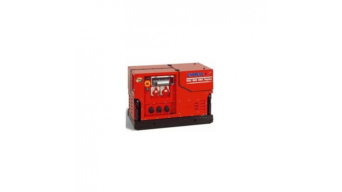 Бензиновый генератор Endress ESE 1408 DBG ES DUPLEX Silent