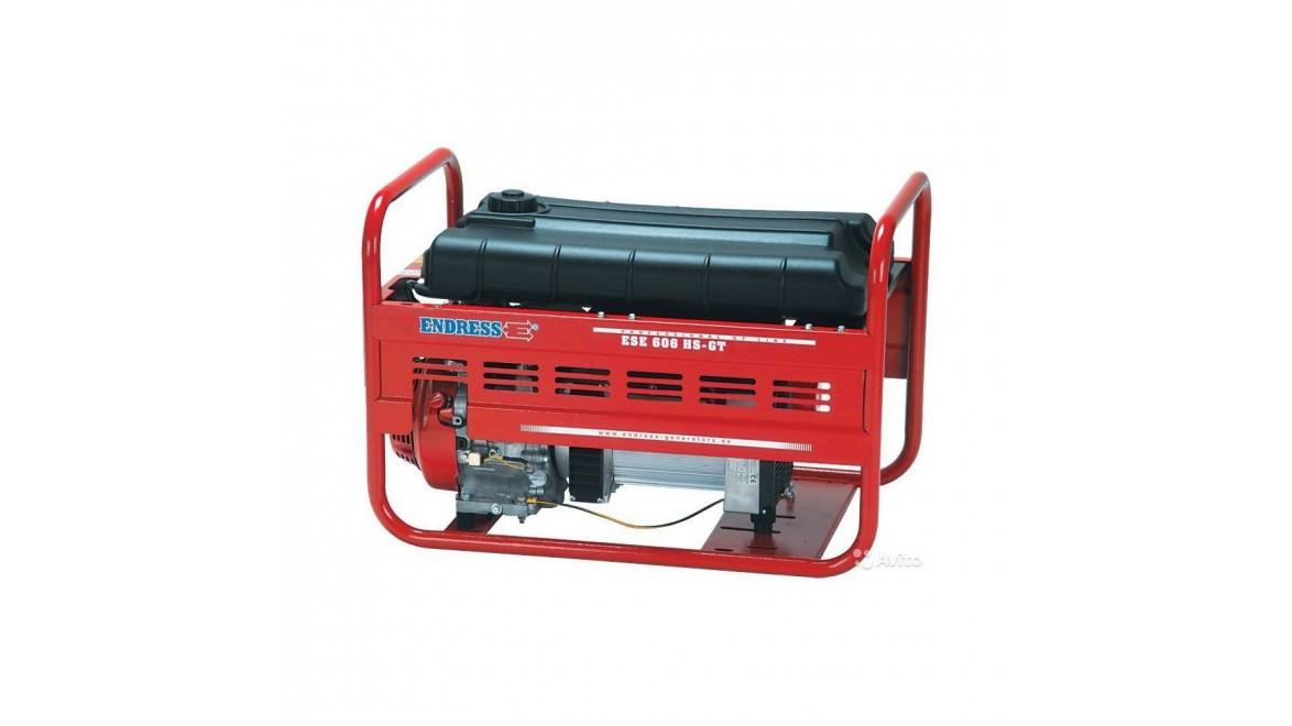 Бензиновый генератор Endress ESE 606 DHS-GT ES/A