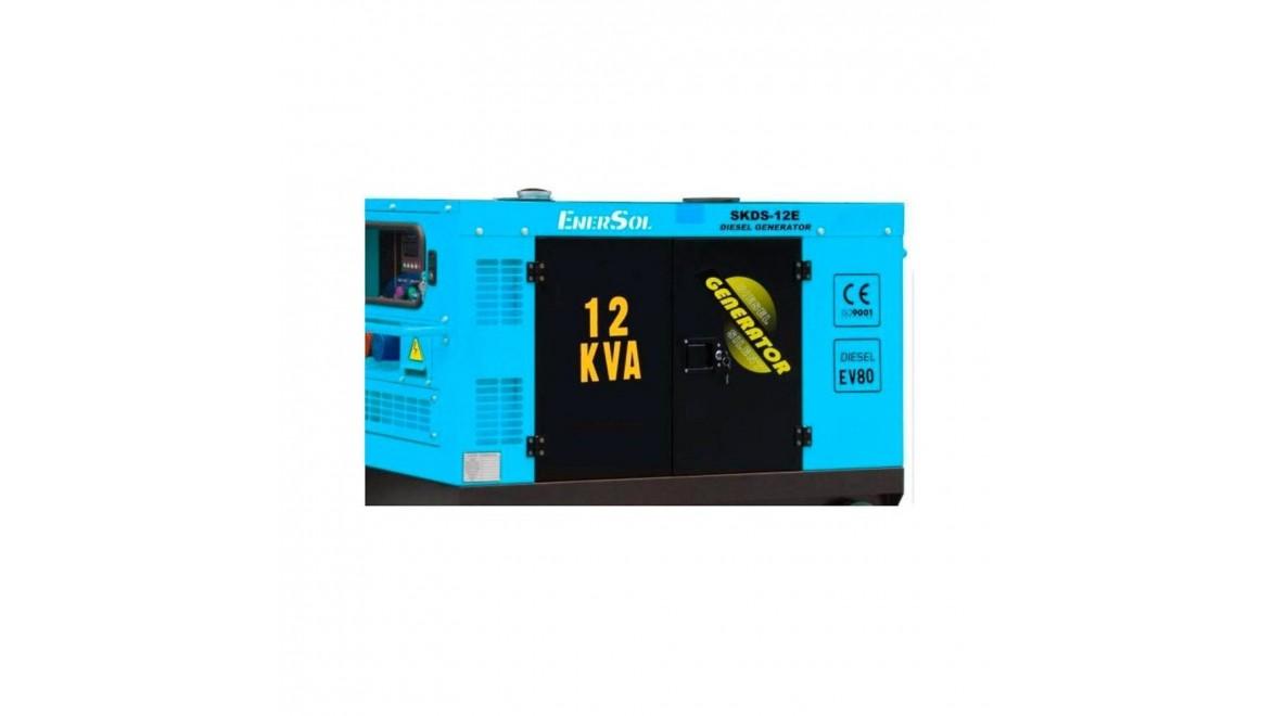 Дизельный генератор EnerSol SKDS-12E-3(B)