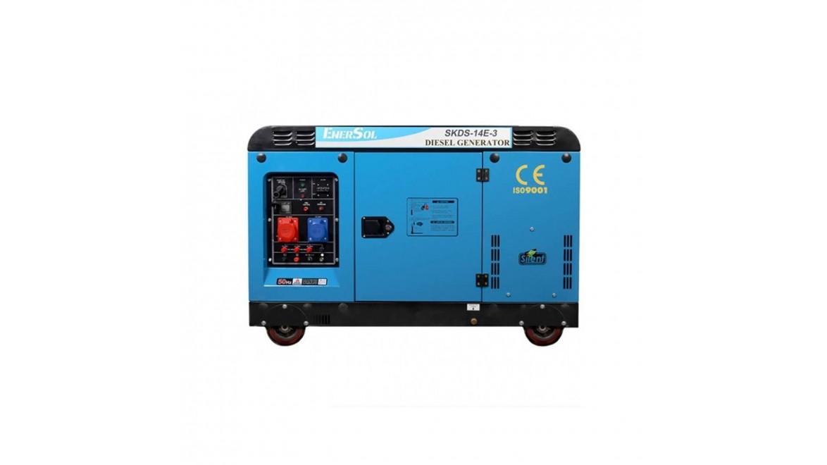 Дизельный генератор EnerSol SKDS-14E(B)-3