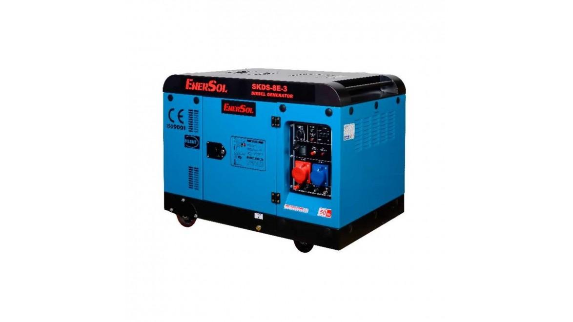 Дизельный генератор EnerSol SKDS-8E-3