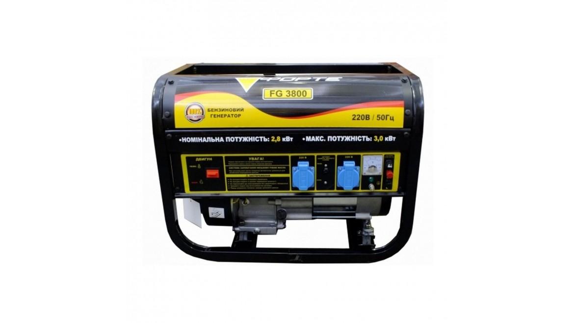 Бензиновый генератор Forte FG3800