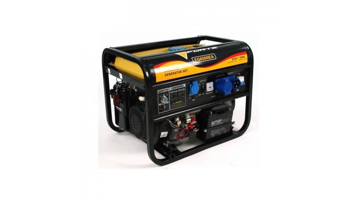 Бензиновый генератор Forte FG6500EА