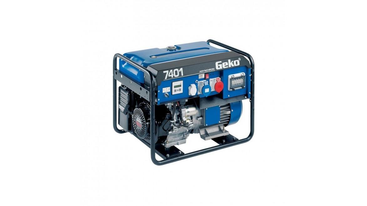 Бензиновый генератор GEKO R7401 E-S/HHBA