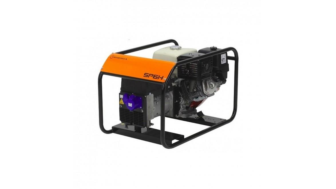 Бензиновый генератор Generga SP6HE AVR