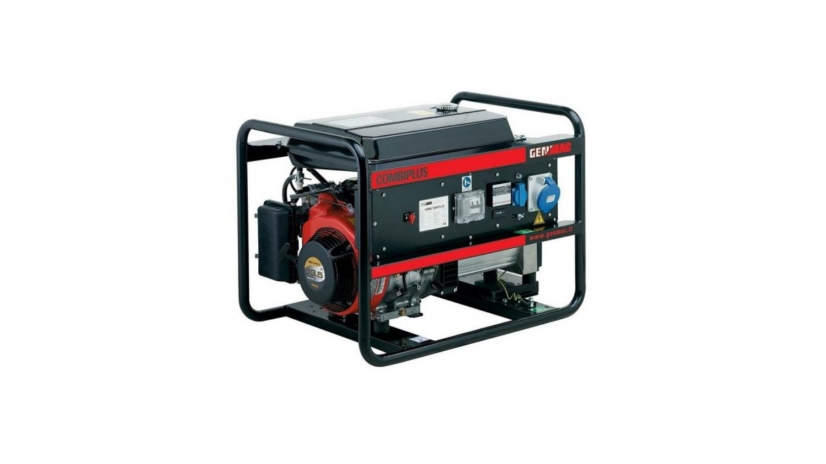 Бензиновый генератор Genmac Combiplus 5500R