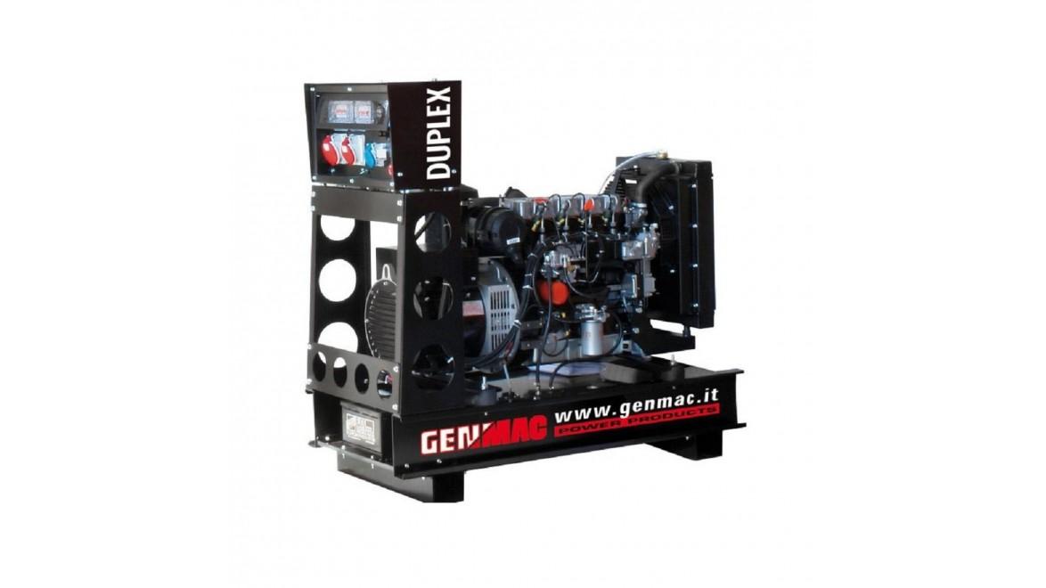 Дизельный генератор Genmac Duplex G21KOM-E