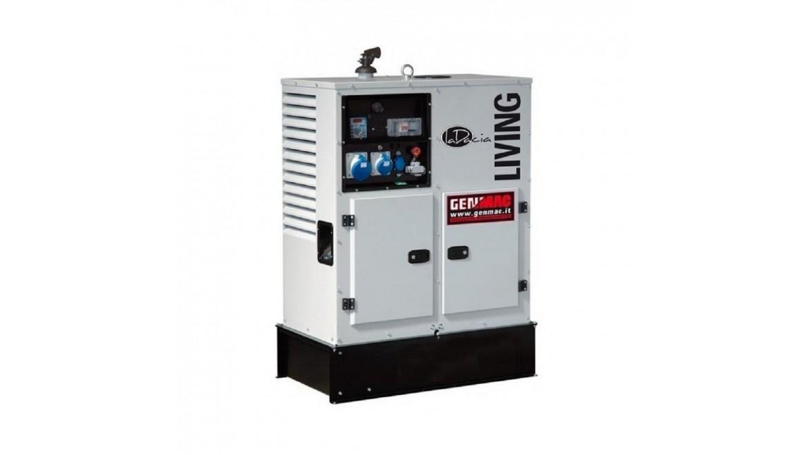 Дизельный генератор Genmac Living RG12000KS