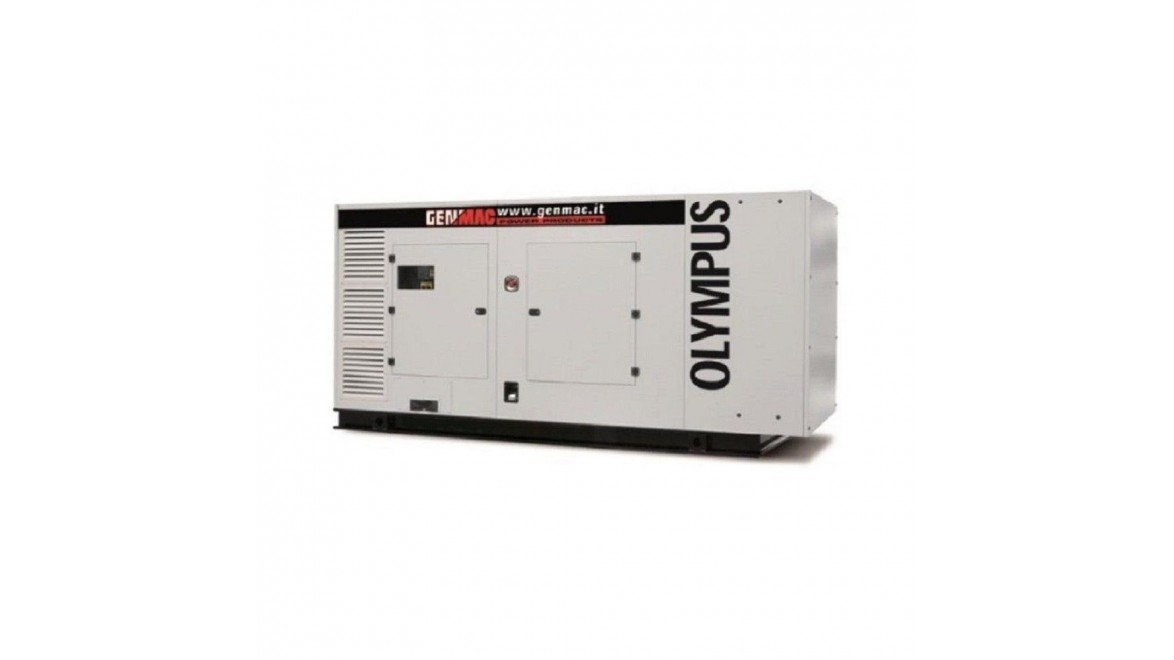 Дизельный генератор Genmac Olympus G300DSA