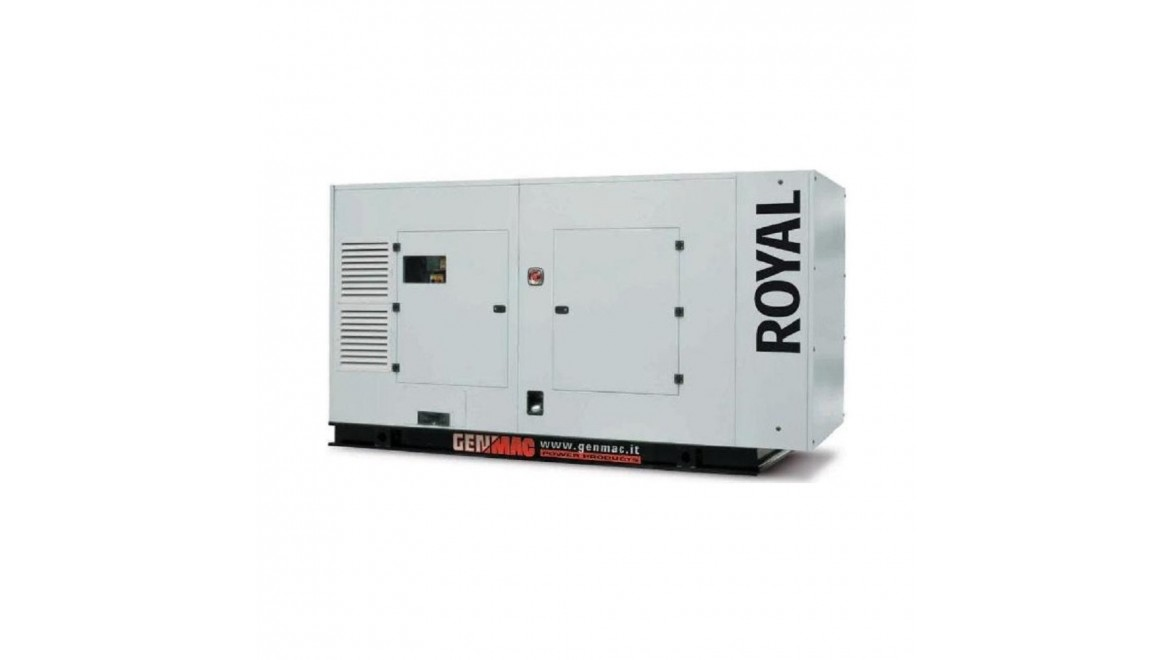 Дизельный генератор Genmac Royal G200DSA