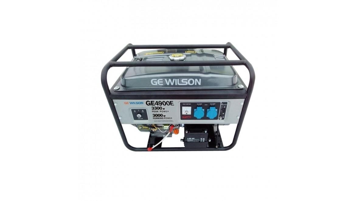 Бензиновый генератор GEWILSON GE4900Е