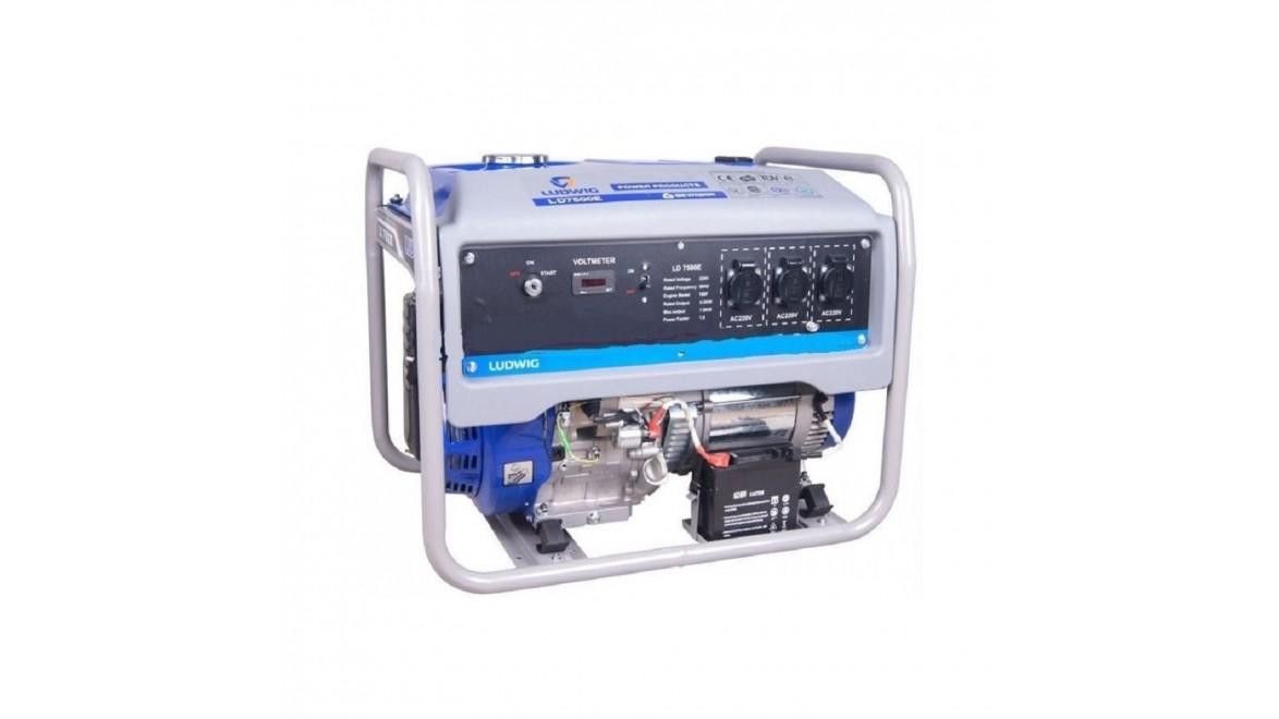 Бензиновый генератор GEWILSON LD7500E