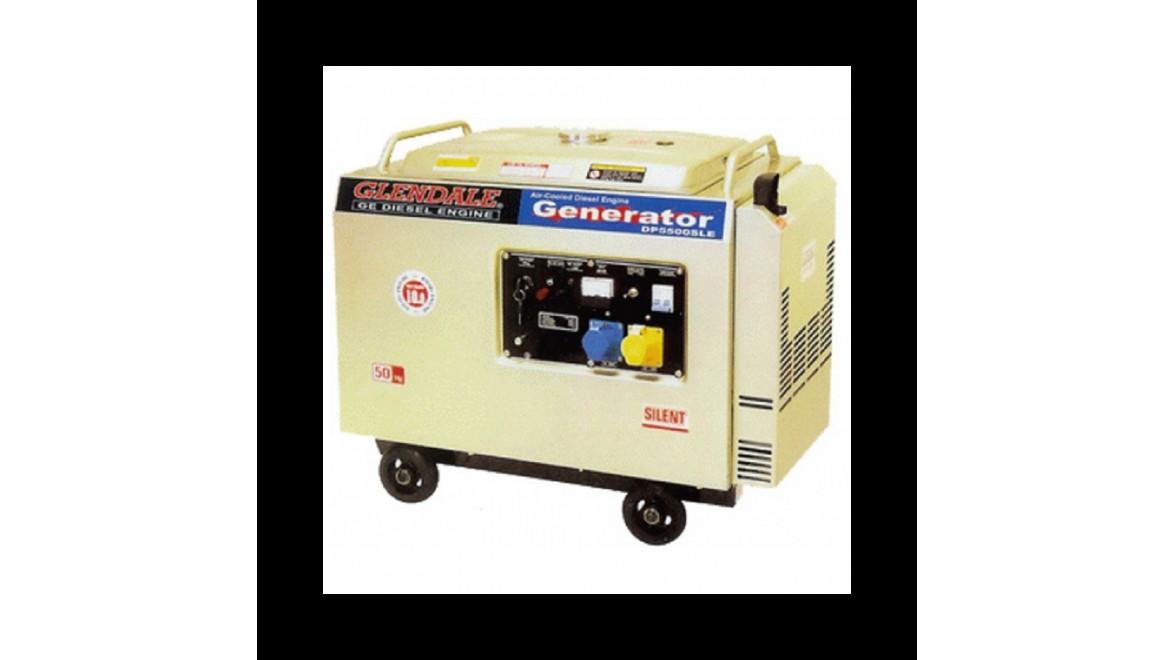Бензиновый генератор Glendale GP5500L-SLE/3