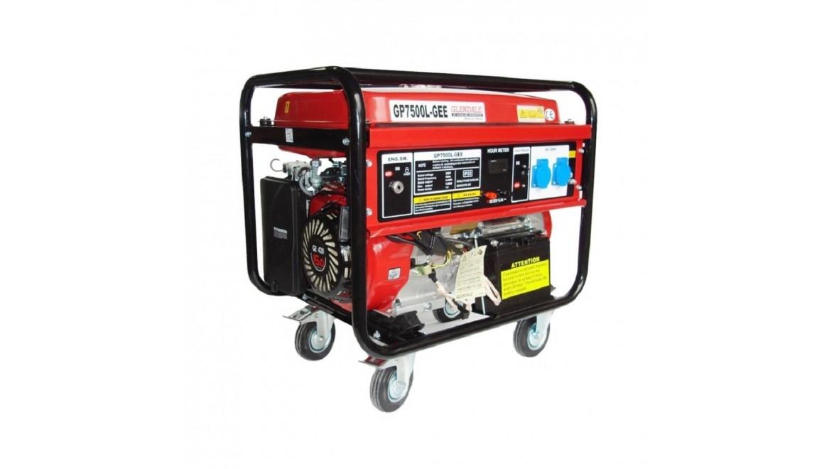 Бензиновый генератор Glendale GP7500L-GEE/1 AKБ