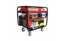 Бензиновый генератор Glendale GP7500L-GEE/3 АКБ