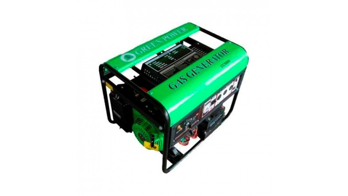 Газовый генератор Greenpower CC5000 LPG/NG-Т2