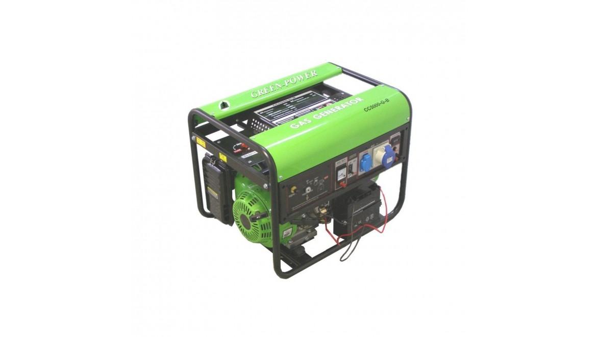 Газовый генератор Greenpower CC5000АТ LPG/NG-Т2