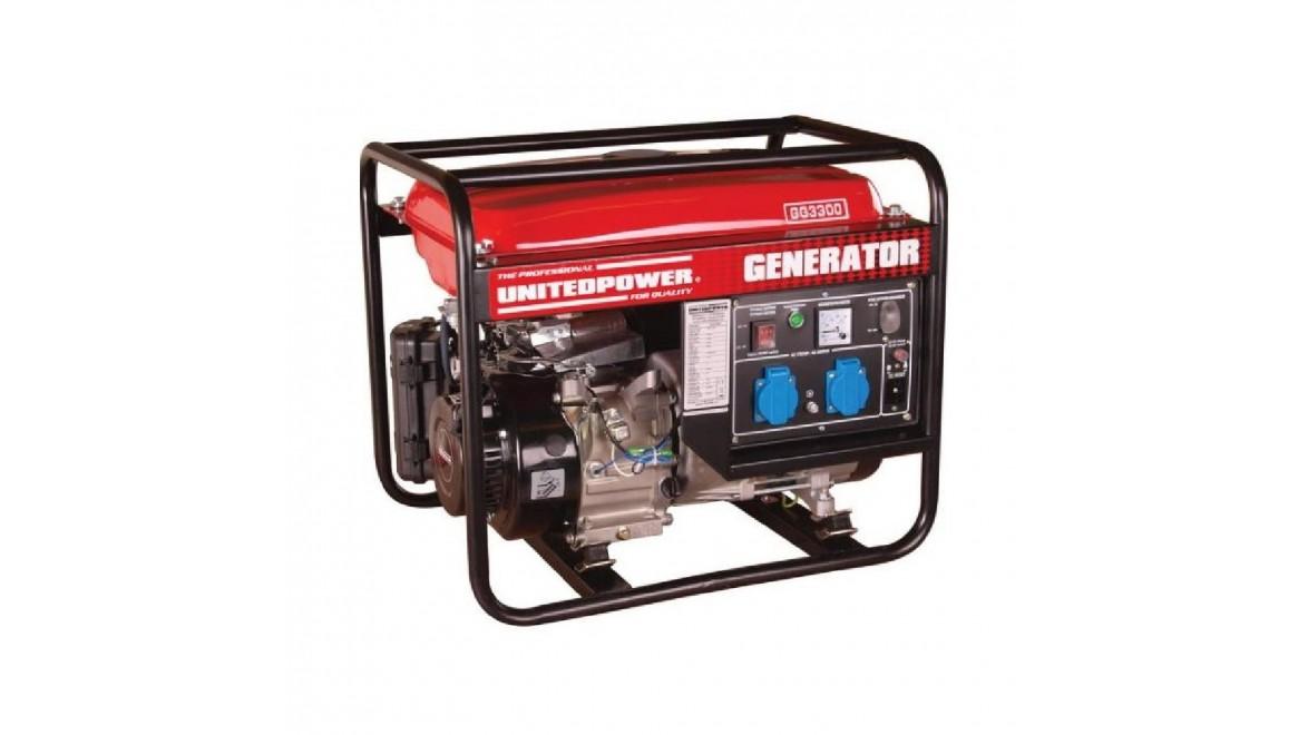 Бензиновый генератор Hecht GG 3300