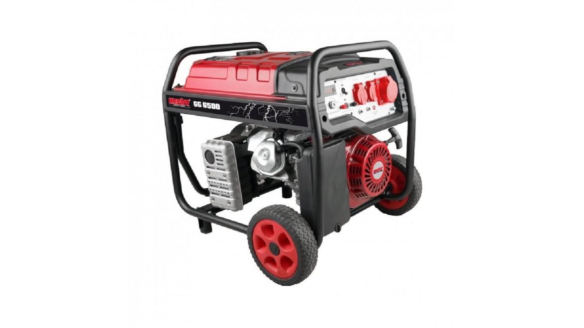 Бензиновый генератор Hecht GG 6500