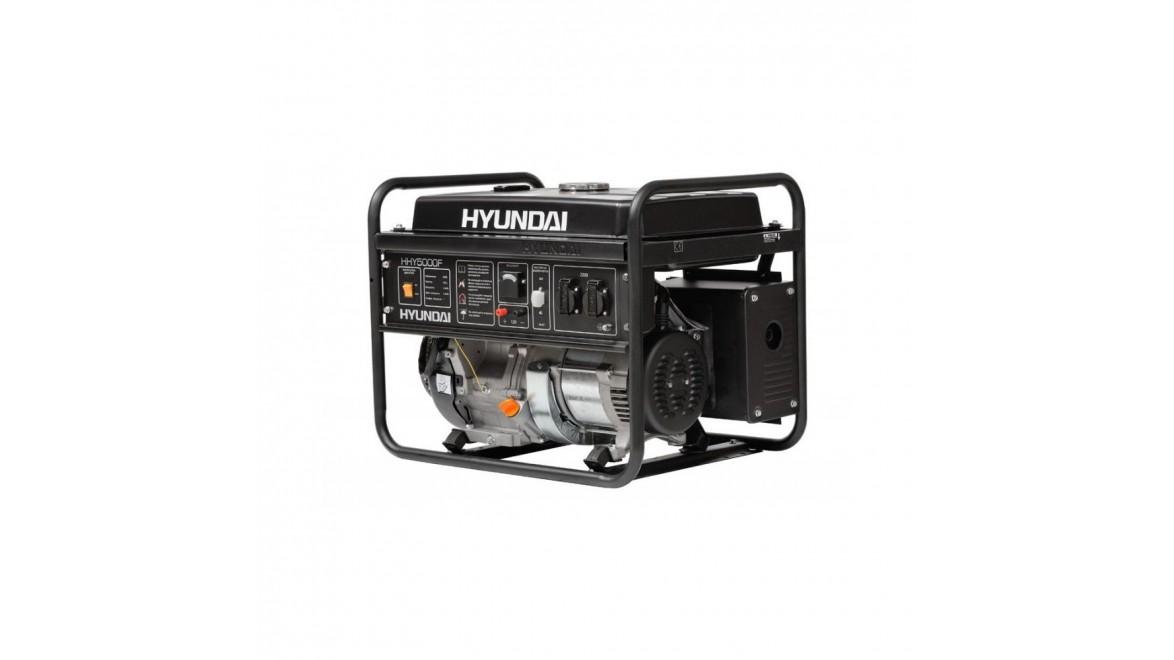 Бензиновый генератор Hyundai HHY 5000 F
