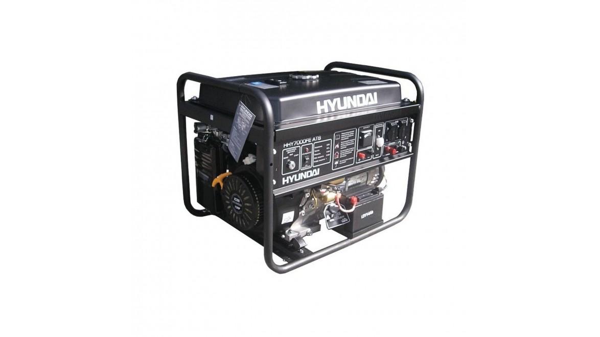 Бензиновый генератор Hyundai HHY 7000 FE ATS