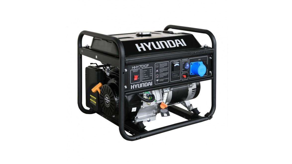 Бензиновый генератор Hyundai HHY 7010 F