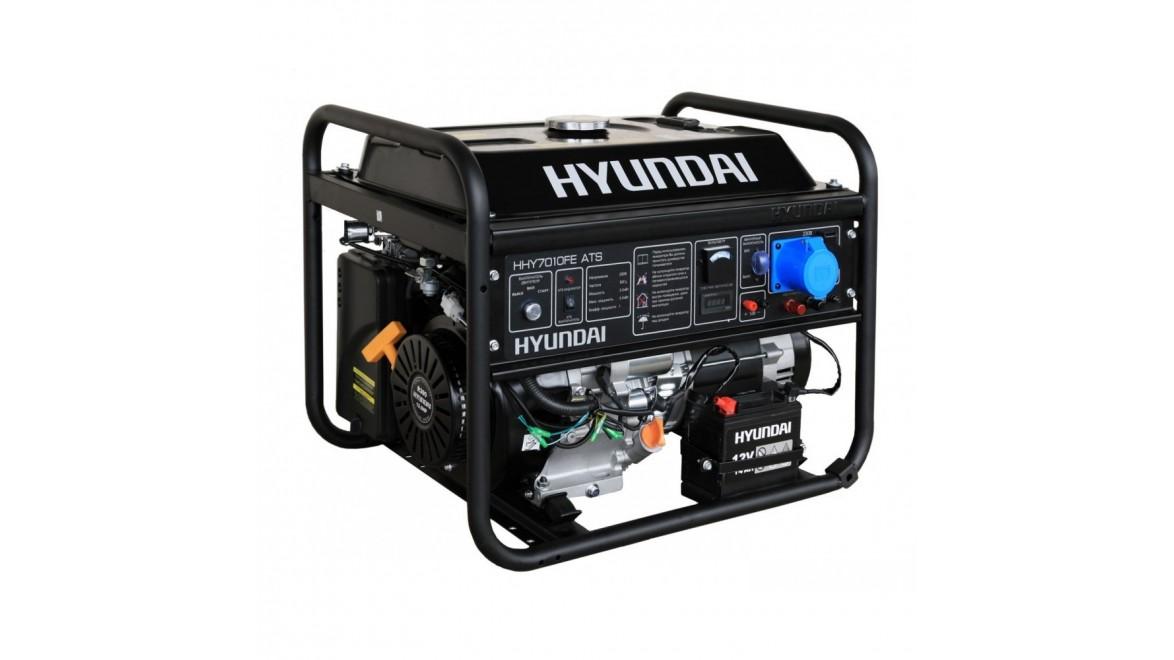 Бензиновый генератор Hyundai HHY 7010 FE ATS