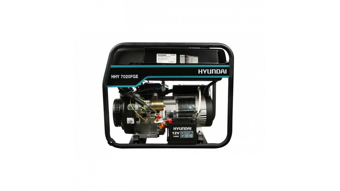 Гибридный генератор Hyundai HHY 7020FGE