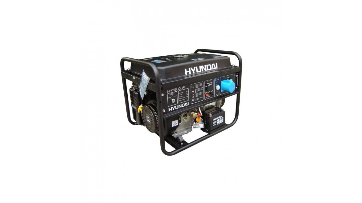 Бензиновый генератор Hyundai HHY 9000 FE