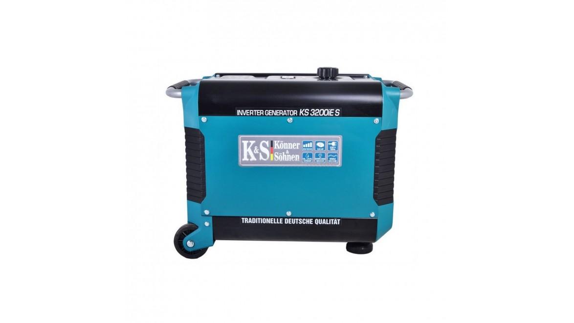 Бензиновый генератор Konner&Sohnen 3200iE S