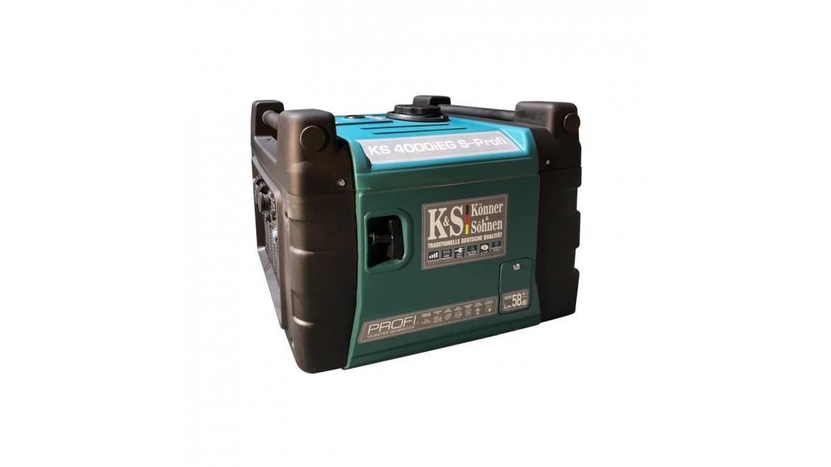 Гибридный генератор  Konner&Sohnen KS 4000iEG S-PROFI