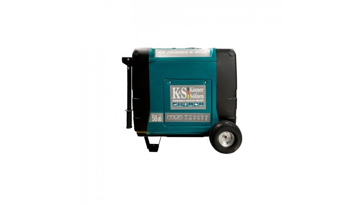 Гибридный генератор Konner&Sohnen KS 7200iEG S-PROFI