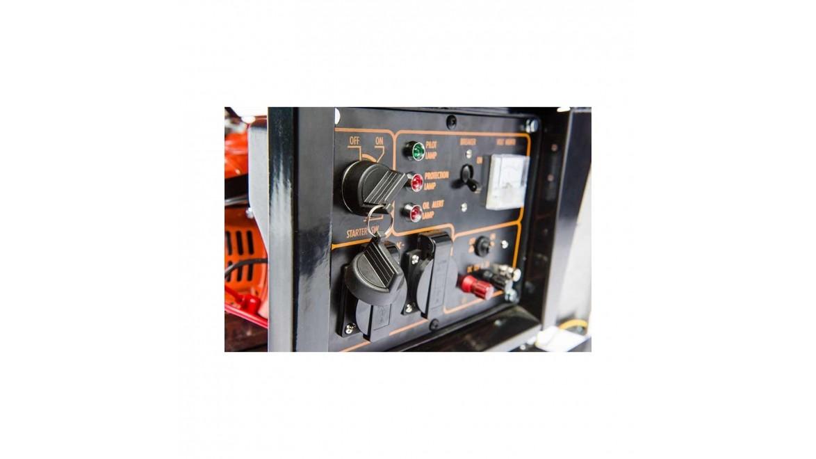 Бензиновый генератор Tekhmann TGG-i38 ES