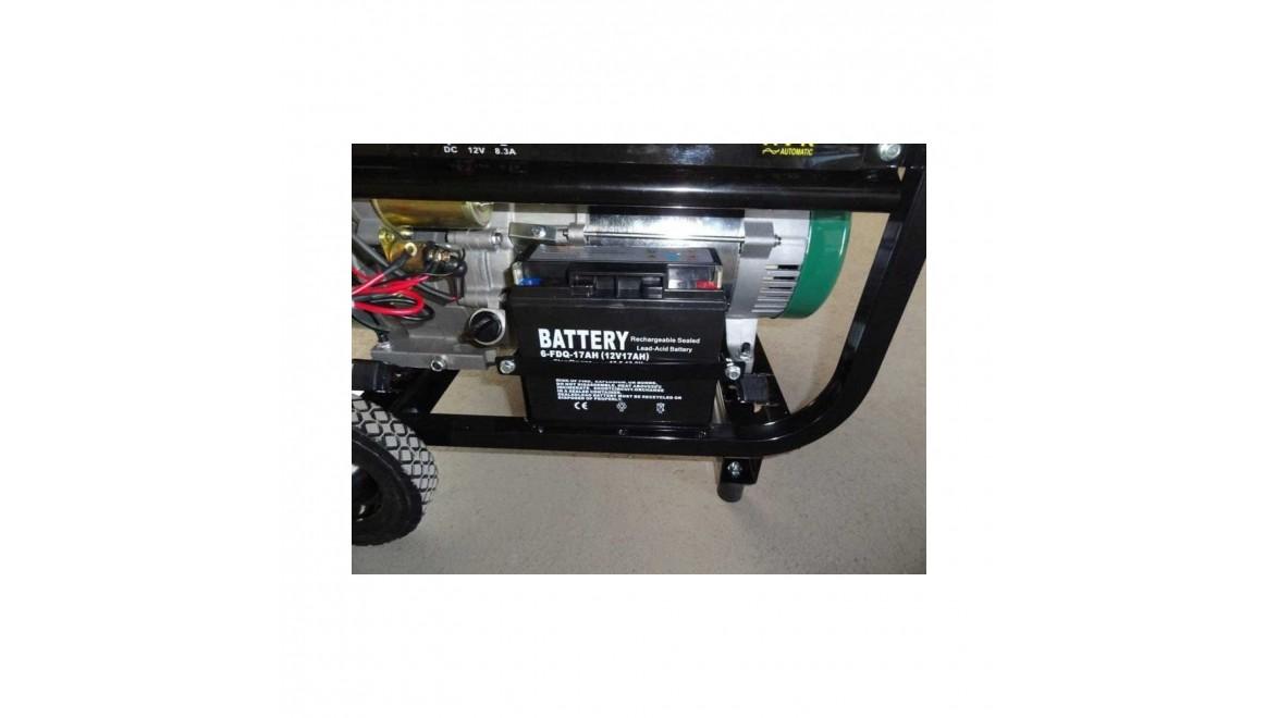 Бензиновый генератор IRON ANGEL EG 8000 E3/1