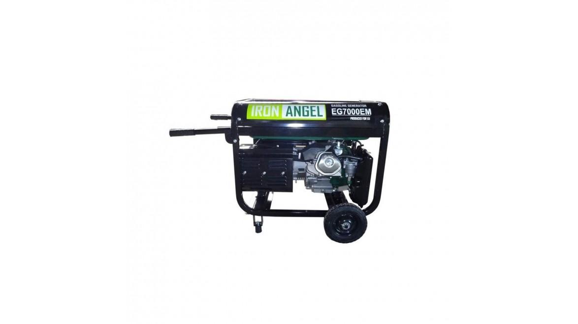 Бензиновый генератор Iron Angel EG7000e ats