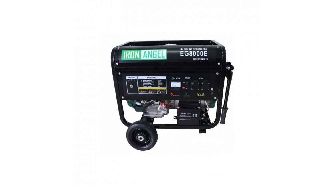 Бензиновый генератор Iron Angel EG8000e ats