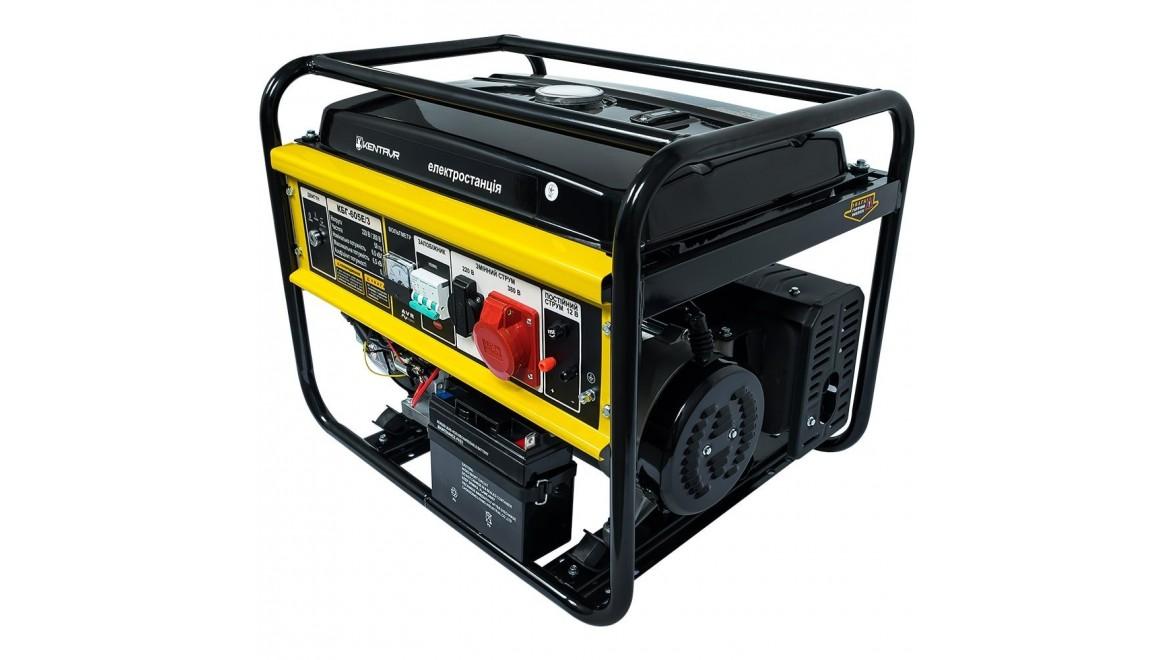 Бензиновый генератор Кентавр КБГ 605 Э 3